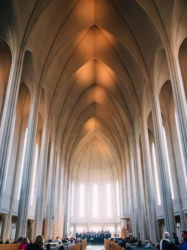 ハットルグリムス教会の内部