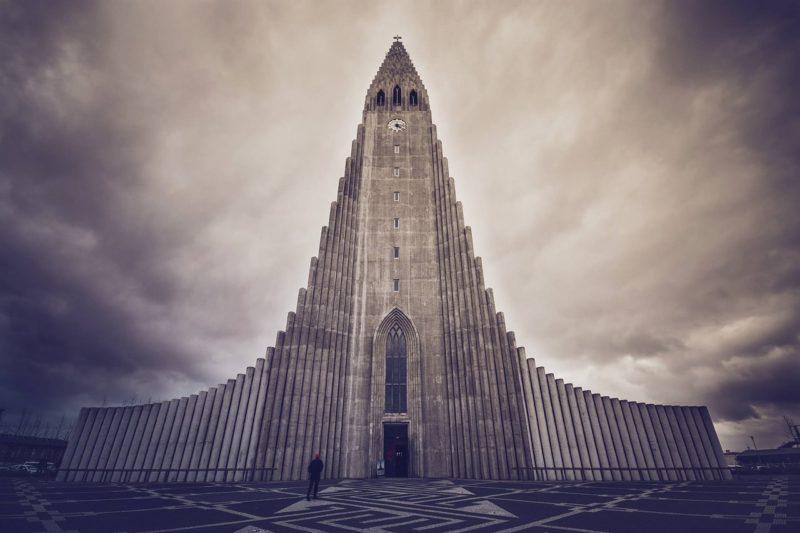 ハットルグリムス教会の外観