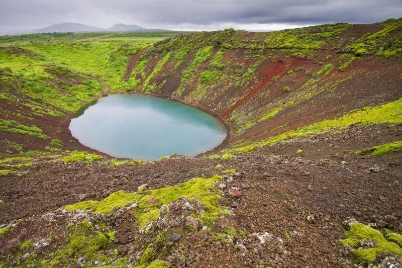 ケリズ火山湖